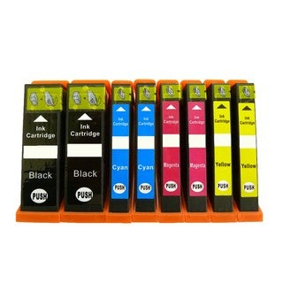 8PK (2K/2C/2M/2Y) Replacing Epson T273XL T273XL220 T273XL320 T273XL420 Epson Expression Premium XP-610 XP-810 XP-600 XP-800