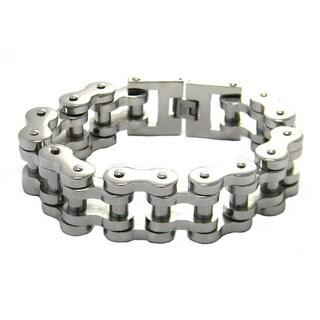 Stainess Steel Biker Chain Bracelet