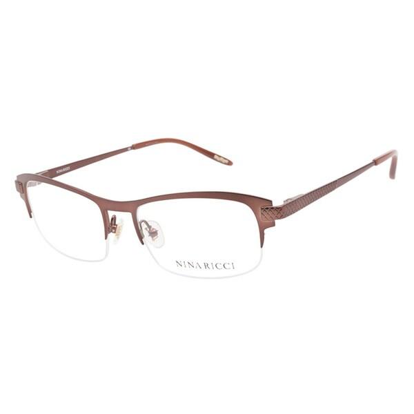 Nina Ricci 2303 C02 Brown Prescription Eyeglasses