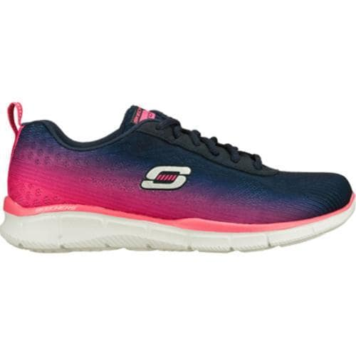 Women's Skechers Equalizer Oasis Navy/Pink