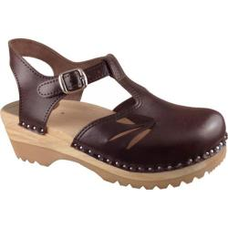 Women's Troentorp Bastad Clogs Nelly Cola Brown
