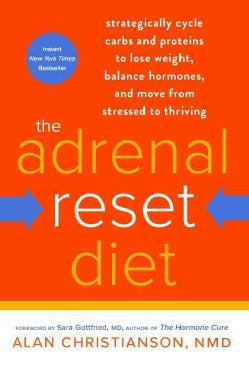 The Adrenal Reset Diet: Strategically Cycle Carbs and Proteins to Lose Weight, Balance Hormones, and Move from St... (Hardcover)