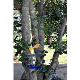 Handmade Synchronized Swimming Wind Chime (India)