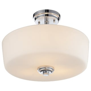 Z-Lite Lamina 3-light Semi-flush Mount Light