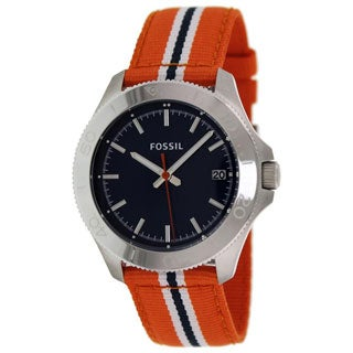 Fossil Men's AM4478 Retro Traveler Nylon Watch
