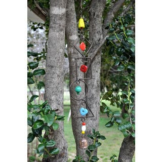 Handmade Shapes Wind Chime (India)