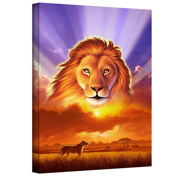 Jerry LoFaro 'The Lion King' Gallery-Wrapped Canvas 12823005