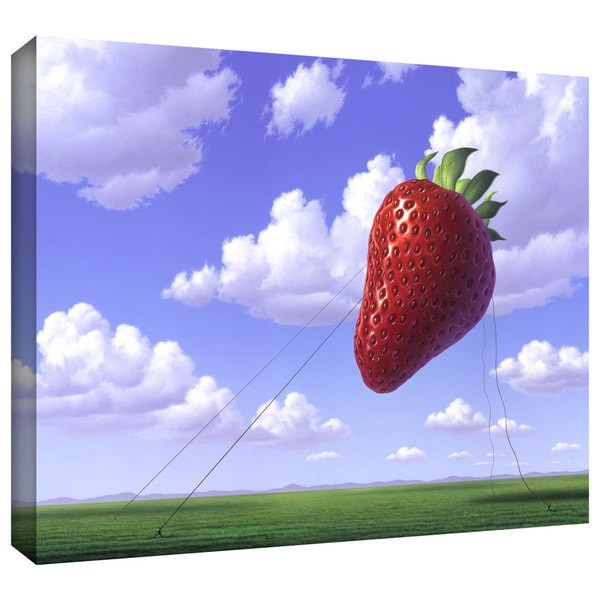 Jerry LoFaro 'Strawberry Field' Gallery-Wrapped Canvas