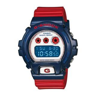 Casio Men's 'G-Shock' Blue/ Red Resin Watch