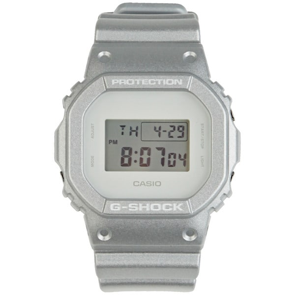 Casio Men's 'G-Shock 7' Silver Resin Digital Watch
