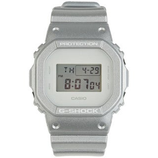 Casio Men's 'G-Shock 7' Silver Resin Digital Watch