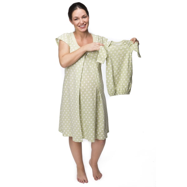Baby Be Mine Nursing Nightgown in Charlotte