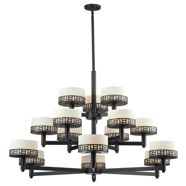 Z-Lite Elea 15-light Bronze Chandelier