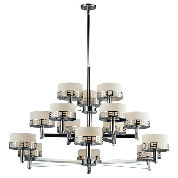 Z-Lite Elea 15-light Chrome Chandelier