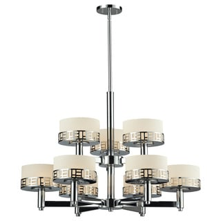 Z-Lite Elea 9-light Chrome Chandelier