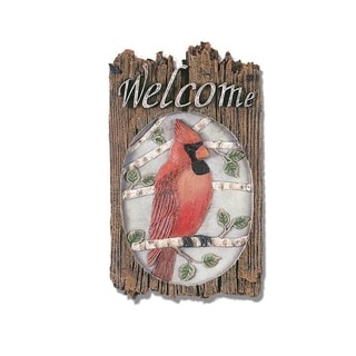 'Cardinal' Resin Wall Art