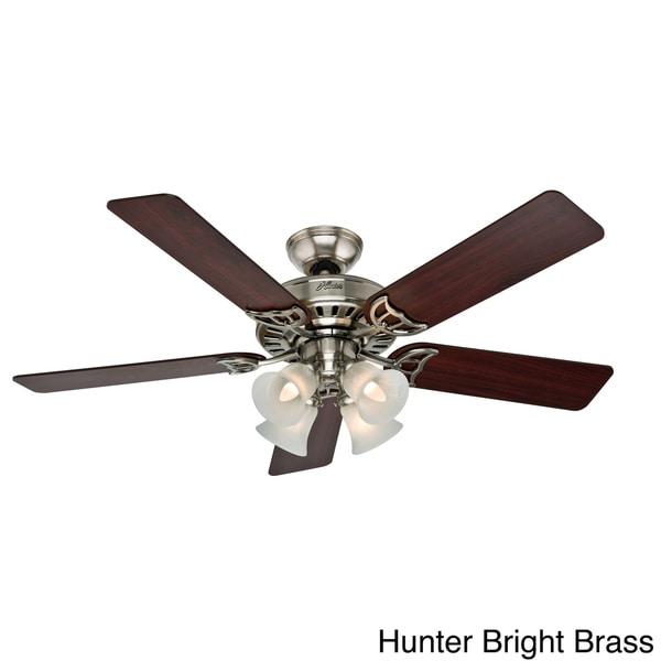 Hunter fan studio series 52 inch ceiling fan - Shopping ceiling fans ...