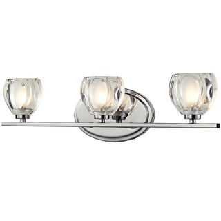 Z-Lite Hale 3-light Chrome Vanity Light