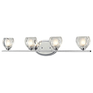 Z-Lite Hale 4-light Chrome Vanity Light