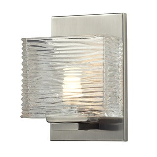 Z-Lite Jaol 1-light Brushed Nickel Vanity Light