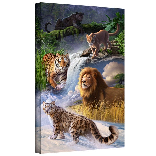 Jerry LoFaro 'Big Cats' Gallery-Wrapped Canvas