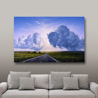 Jerry LoFaro 'Buffalo Crossing' Gallery-Wrapped Canvas