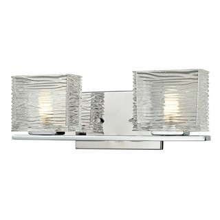 Z-Lite Jaol 2-light Polished Chrome Vanity Light