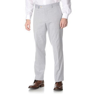 Nautica Men's Blue Pincord Flat-front Pants
