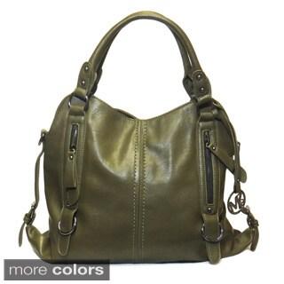 Michael Michelle 'Lydia' Buckled Shoulder Bag