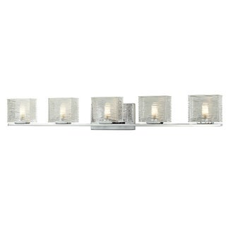 Z-Lite Jaol 5-light Polished Chrome Vanity Light