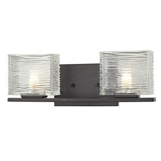 Z-Lite Jaol 2-light Bronze Vanity Light