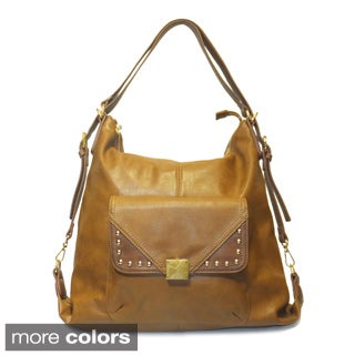 Lithyc 'Jezebel' Front Pocket Shoulder Bag/ Backpack