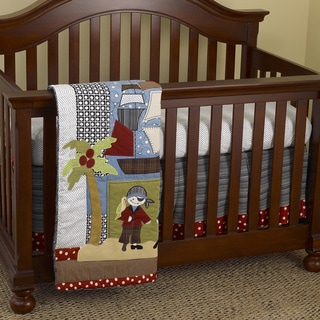 Cotton Tale Pirates Cove 3-piece Crib Bedding Set