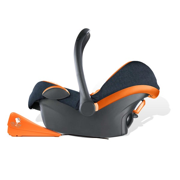 Baby Fanatic Dozer Orange Car Seat Rocker