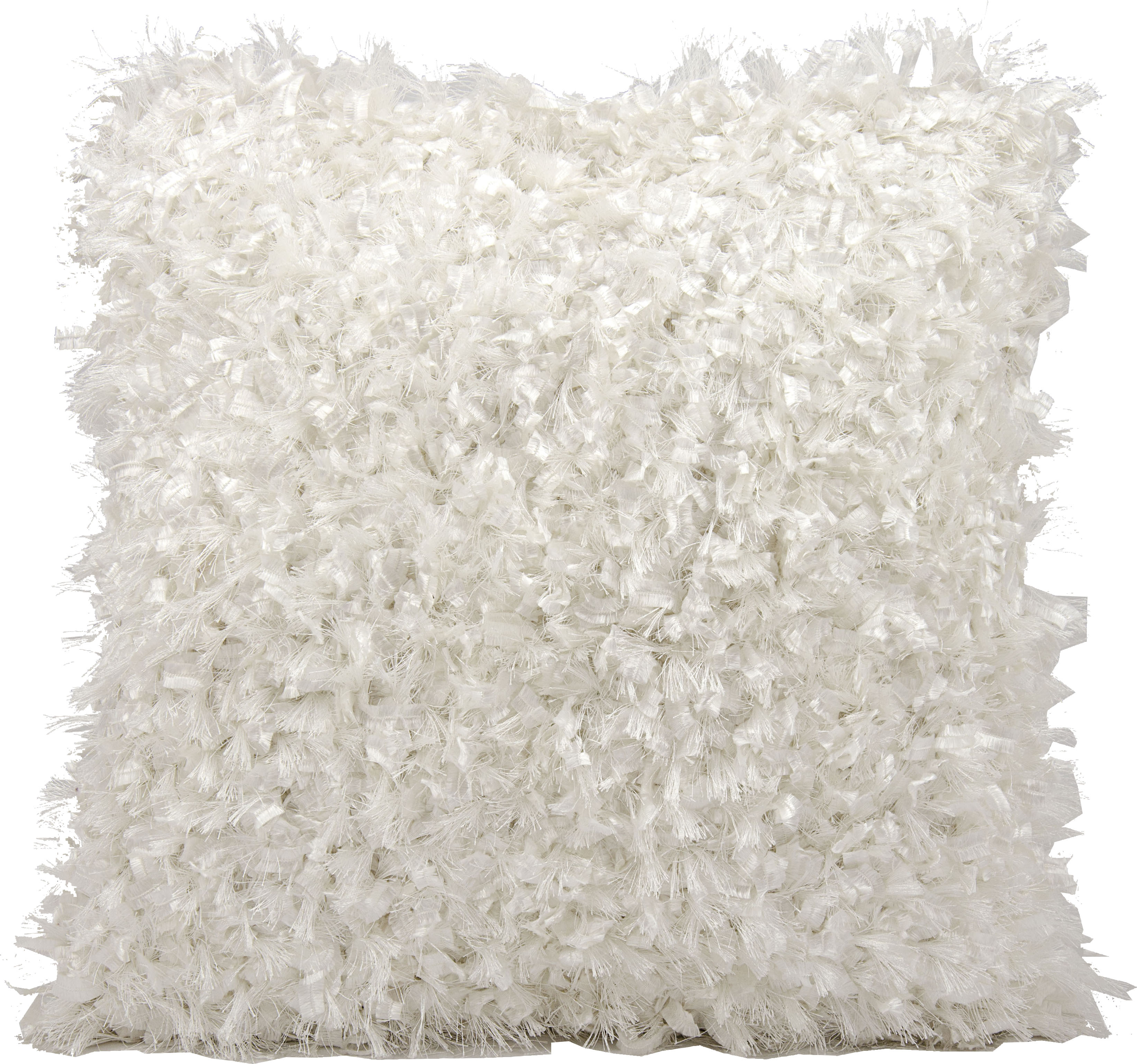 Nourison Michael Amini  White 20-inch Throw Pillow