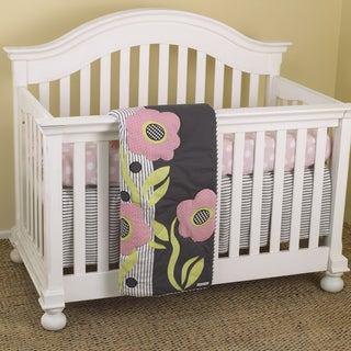 Cotton Tale Poppy 3-piece Crib Bedding Set