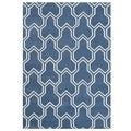 Handmade Alliyah Summer Melon Wool Rug (5' x 8')