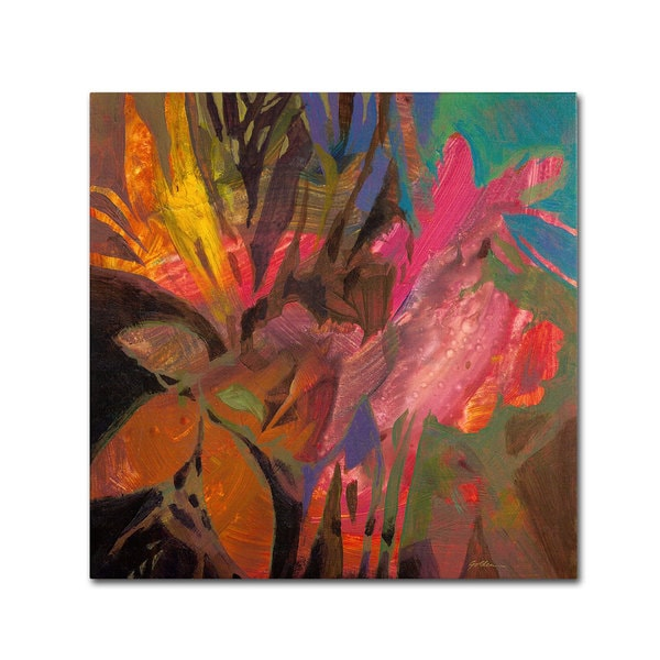 Sheila Golden 'Colors of the Night' Canvas Art