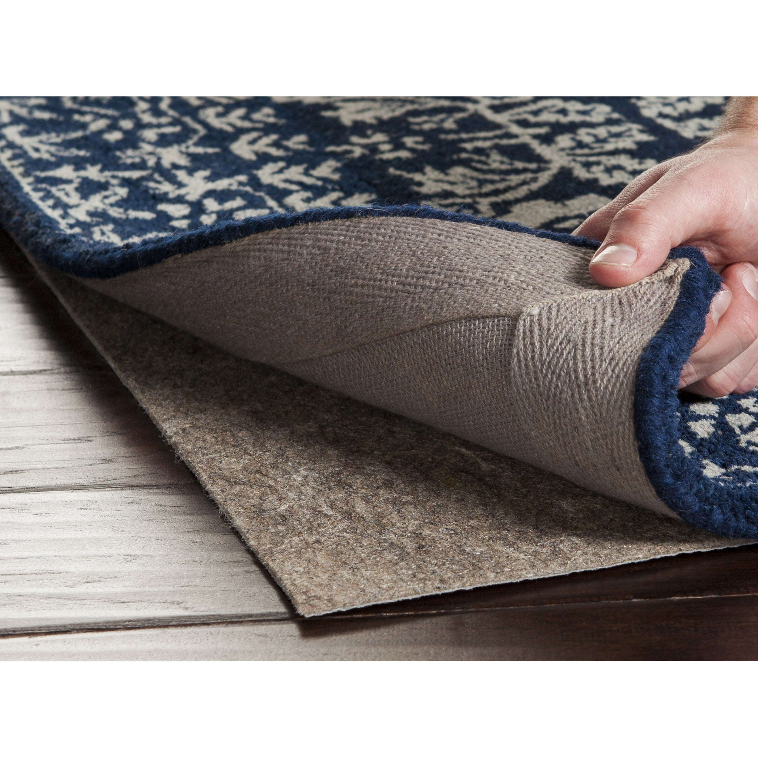 Overstock.com Ultra Premium Felted Reversible Dual Surface Non-Slip Rug Pad-(2'x8') at Sears.com