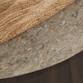 Ultra Premium Felted Reversible Dual Surface Non-Slip Rug Pad-(6' Round)
