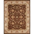 Handmade Chocolate Brown 100-percent New Zealand Wool Rug (9' x 12')