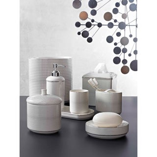 Graphic Dots Bath Accessory Collection