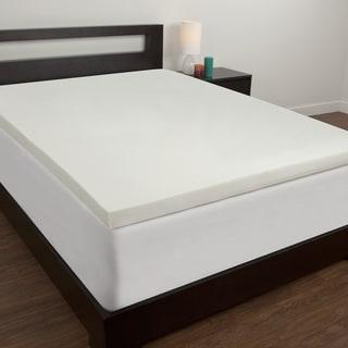 Comfort Memories Premium 3-inch Memory Foam Mattress Topper