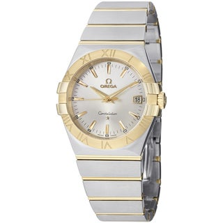 Omega Women's 123.20.35.60.02.002 'Constellation' Silver Dial Two Tone Quartz Watch