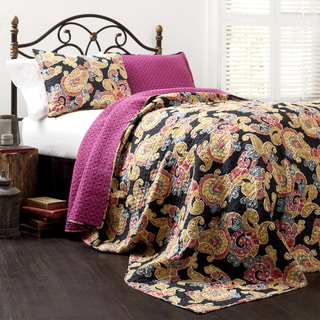Lush Decor Parry 3-piece Quilt Set