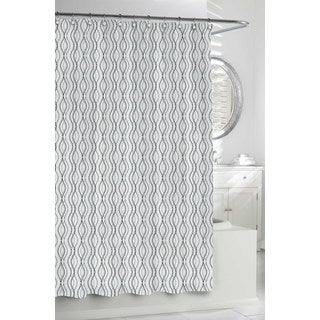 Rolling Ribbon Shower Curtain