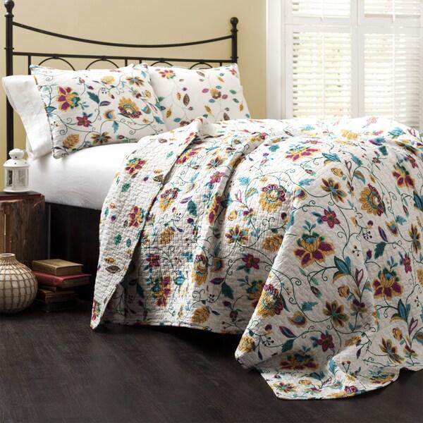 Lush Decor Messina 3-piece Quilt Set
