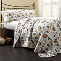 Lush Decor Messina 3-piece Quilt Set