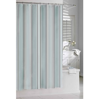 Spa Stripe Shower Curtain
