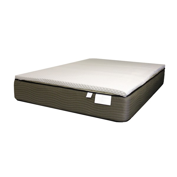 Cannon Sleep 2-inch Latex Foam Mattress Topper